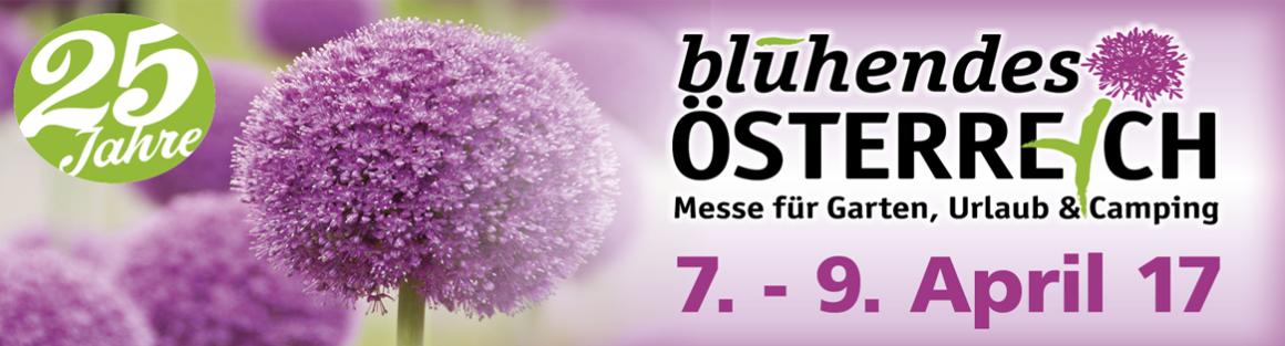 """Gartenmesse """"Blühendes Österreich"""" in Wels"""