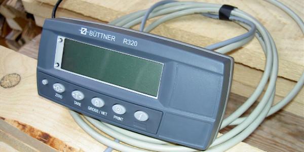 Elektronische Auswertung per inselbetriebenem Display